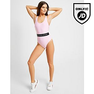8c5f5c2dc64b5 Pink Soda Sport Elasticated Waist Swimsuit ...