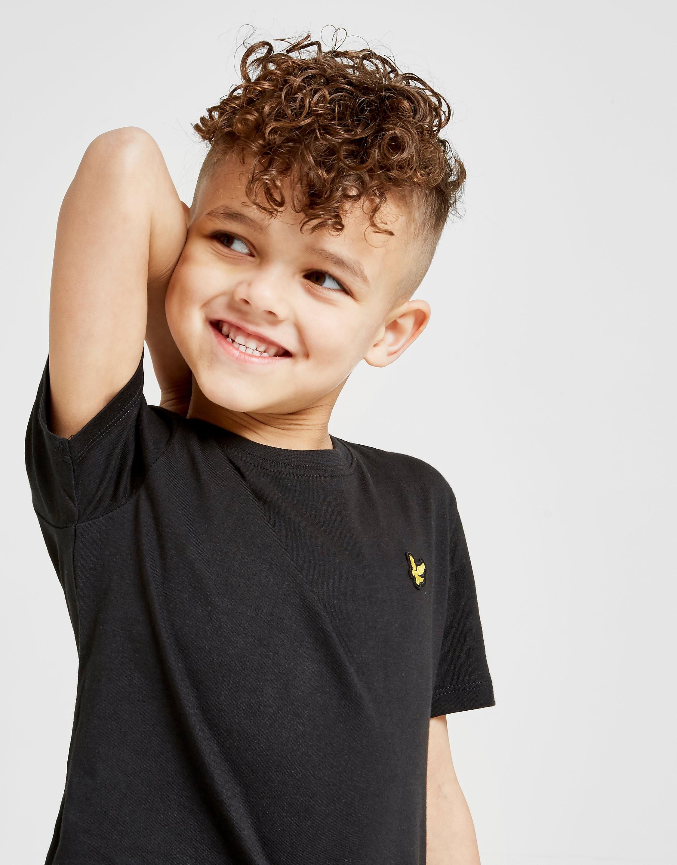 Lyle & Scott Small Logo T-Shirt Kinderen - Zwart - Kind