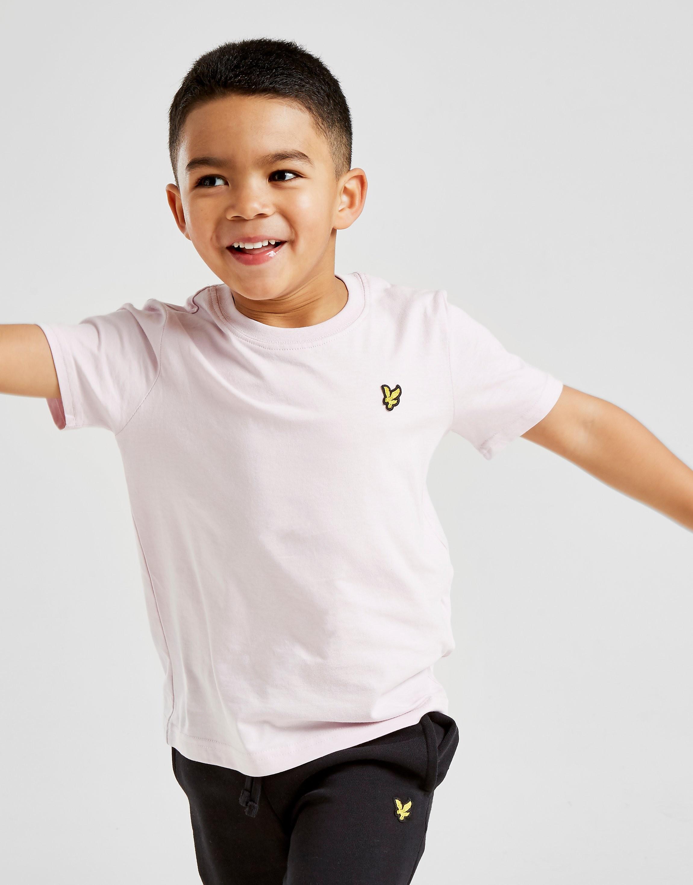 Lyle & Scott Small Logo T-Shirt Kinderen - Roze - Kind
