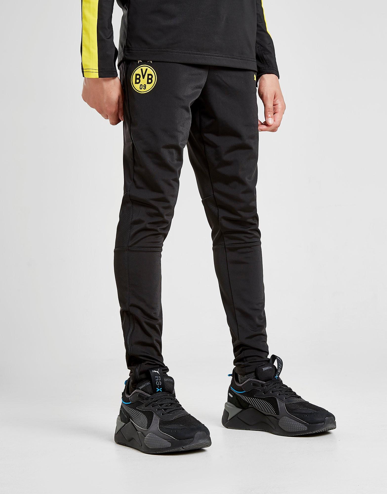 PUMA Borussia Dortmund Training Track Pants Junior Zwart Kind