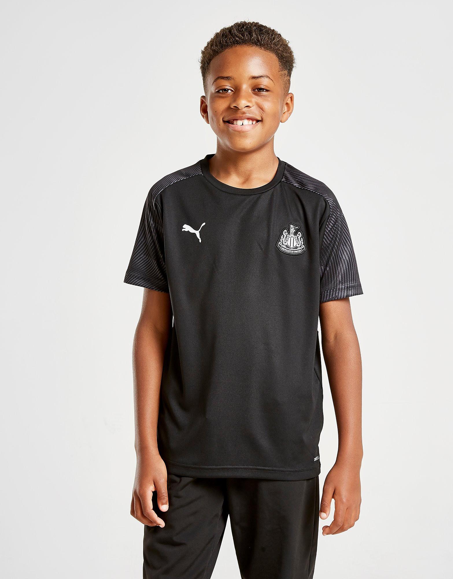 PUMA Newcastle United FC Training Shirt Junior Zwart Kind