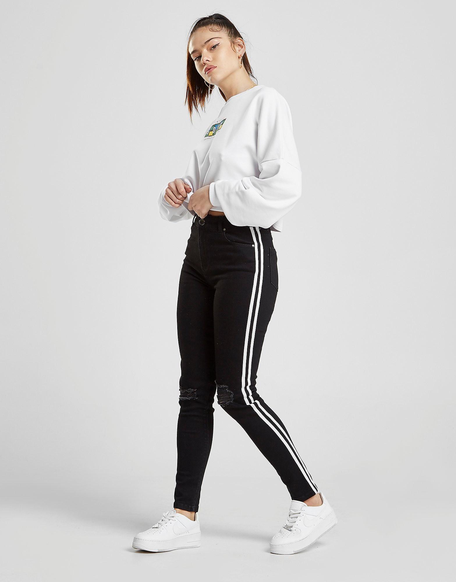 Supply & Demand Sydney High Waisted Jeans - Zwart - Dames