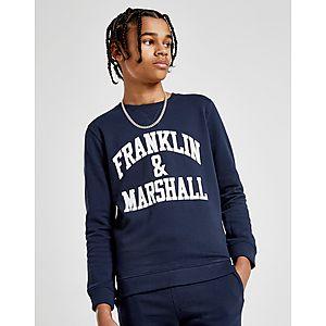 65996c4ae77e Franklin   Marshall Fleece Crew Sweatshirt Junior Franklin   Marshall  Fleece Crew Sweatshirt Junior