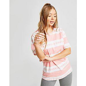 bbc87b6645bf Converse Logo Stripe Boyfriend T-Shirt ...