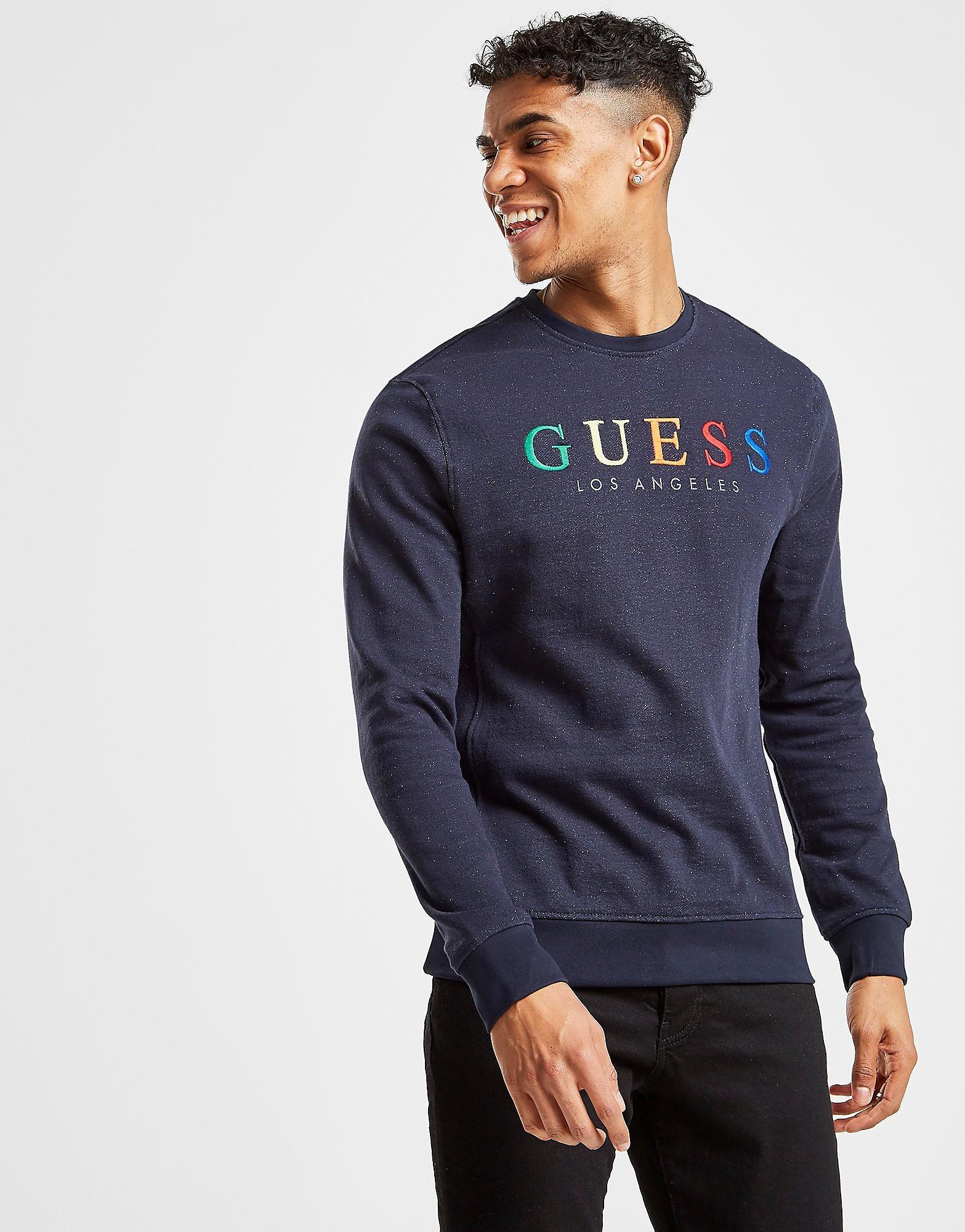 Guess Rainbow Crew Sweatshirt