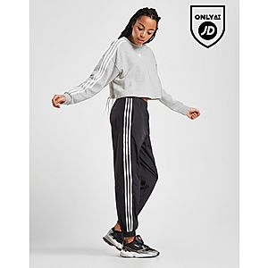 787429d55 ... adidas Originals 3-Stripes Crop Crew Sweatshirt