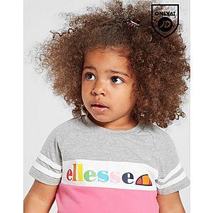 0e89a21b537b96 ... Ellesse Girls  Amapola T-Shirt Shorts Set Infant