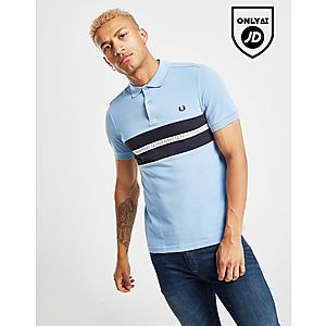4050f0e74 Fred Perry Sports Tape Polo Shirt ...
