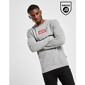 dfec65afbc7 Vans Red Box Crew Sweatshirt ...