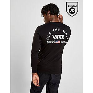 0bd7c5c5e9 Vans Long Sleeve Arch Back Logo T-Shirt ...
