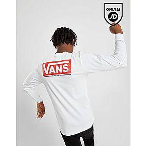 95729819a7 Vans Long Sleeve Back Logo Carter T-Shirt ...