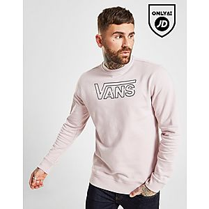 Vans Large Embroidered Crew Sweatshirt ... 85a6254db