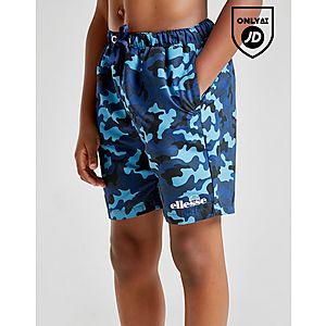 7bce31910 Ellesse Vanti Camo Swim Shorts Junior ...