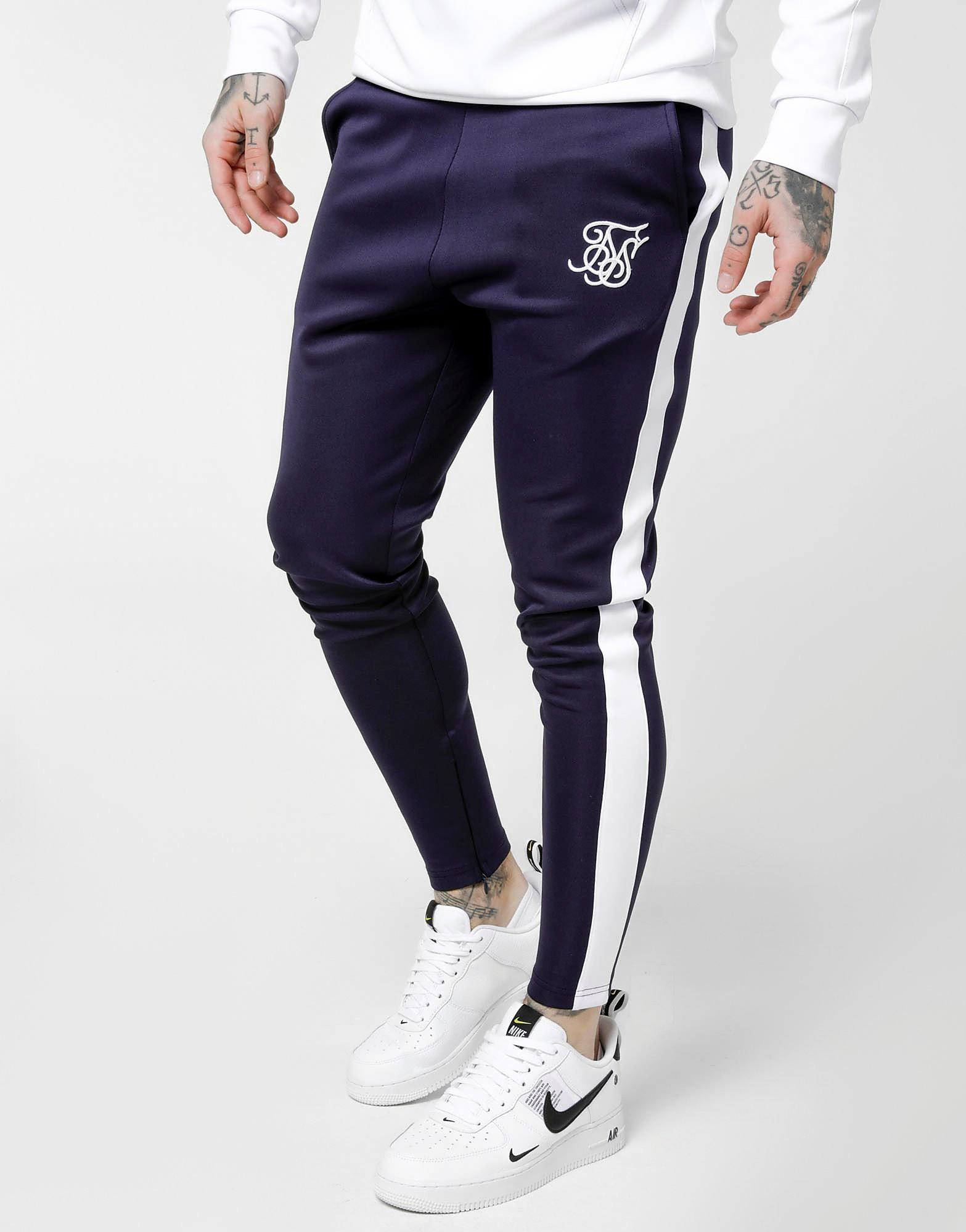 SikSilk Poly Track Pants - alleen bij JD - Blauw - Heren