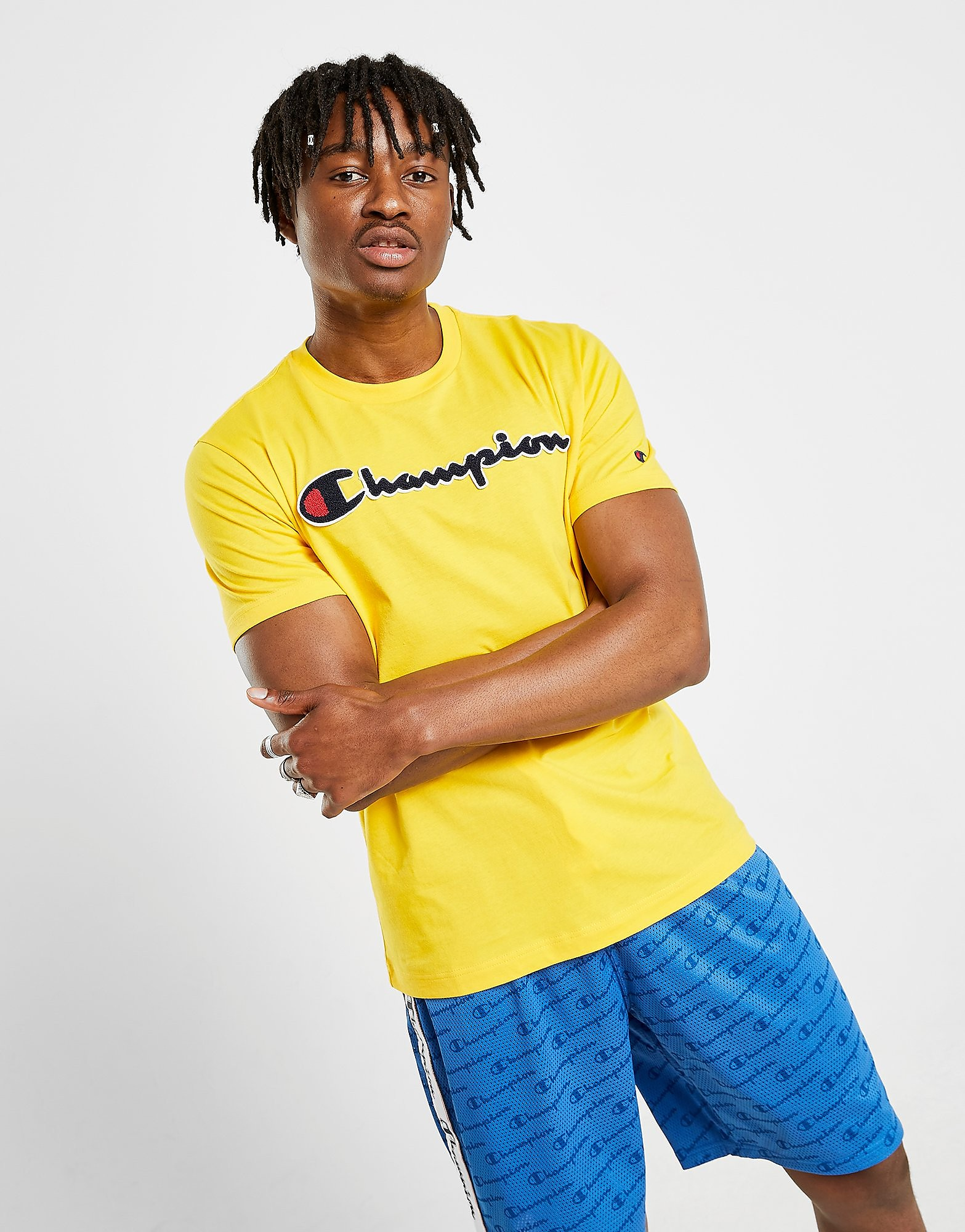Champion Boucle Script Yellow