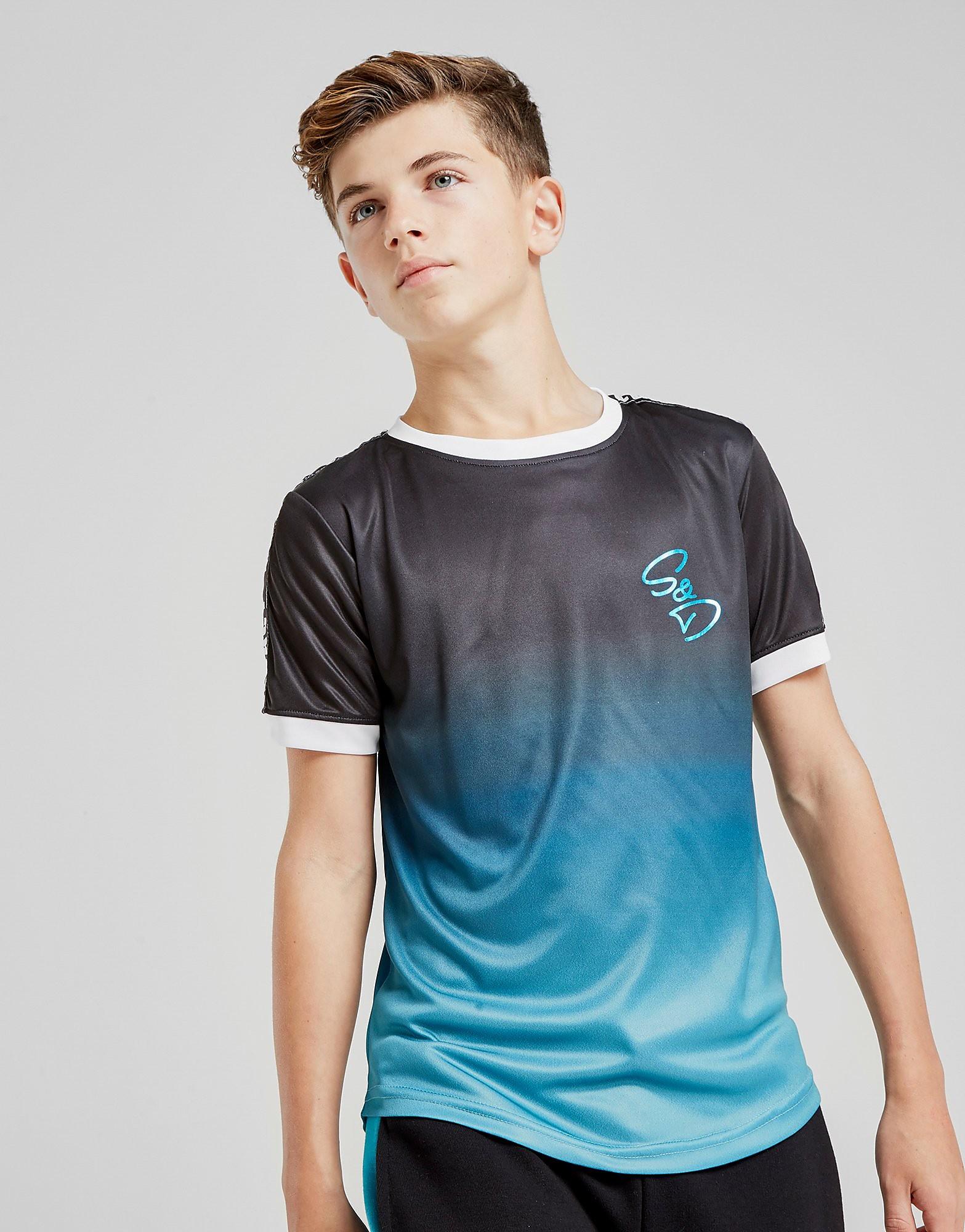 Supply & Demand Fade Out T-Shirt Junior - alleen bij JD - Zwart - Kind