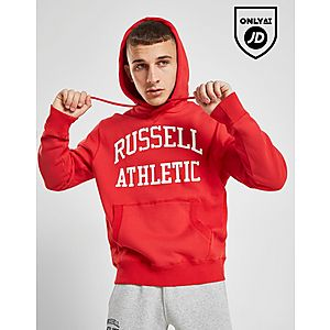 ab9efaaa5cd7 Russell Athletic Arch Logo Hoodie Russell Athletic Arch Logo Hoodie