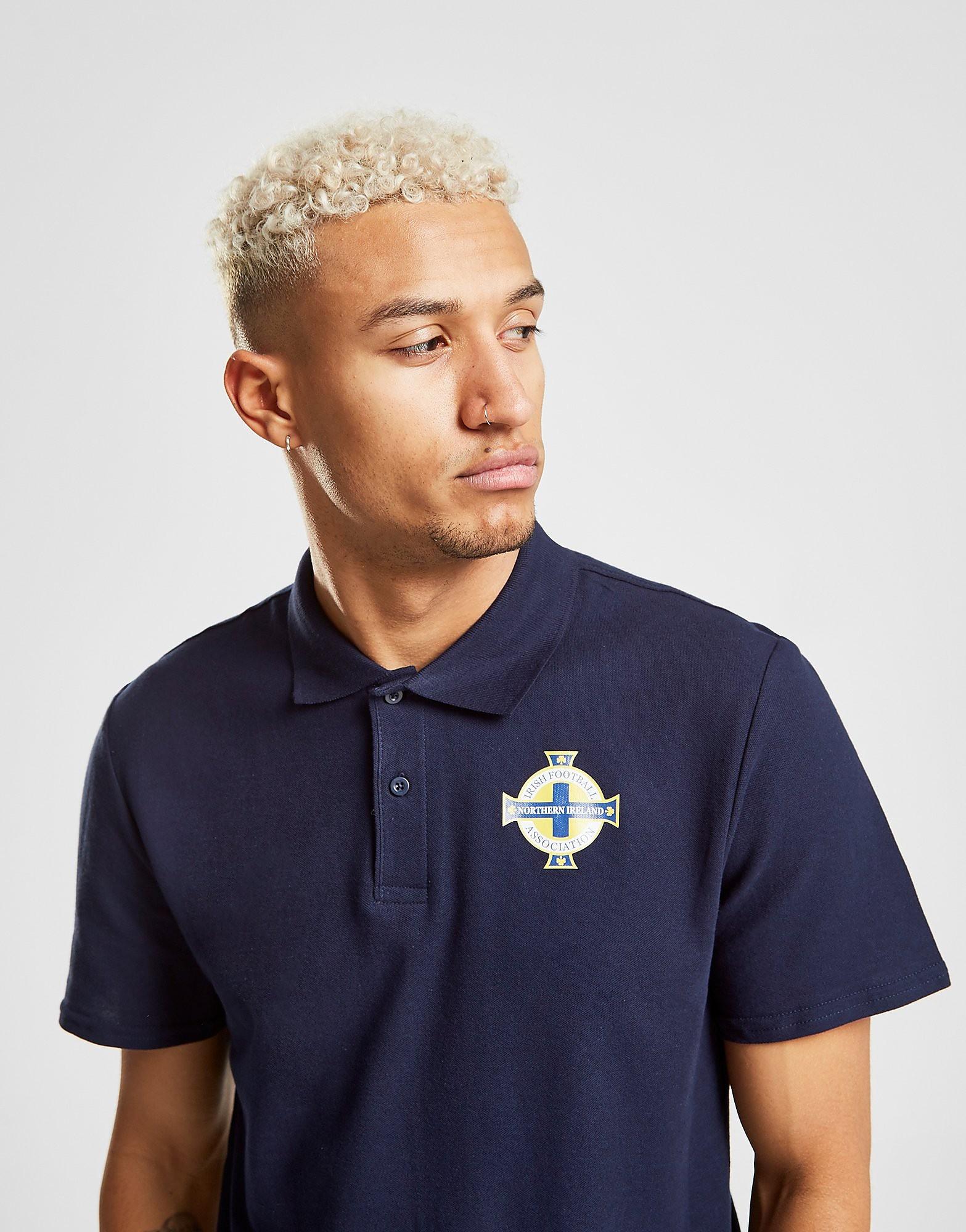 Official Team Northern Ireland Polo Shirt Heren - Blauw - Heren