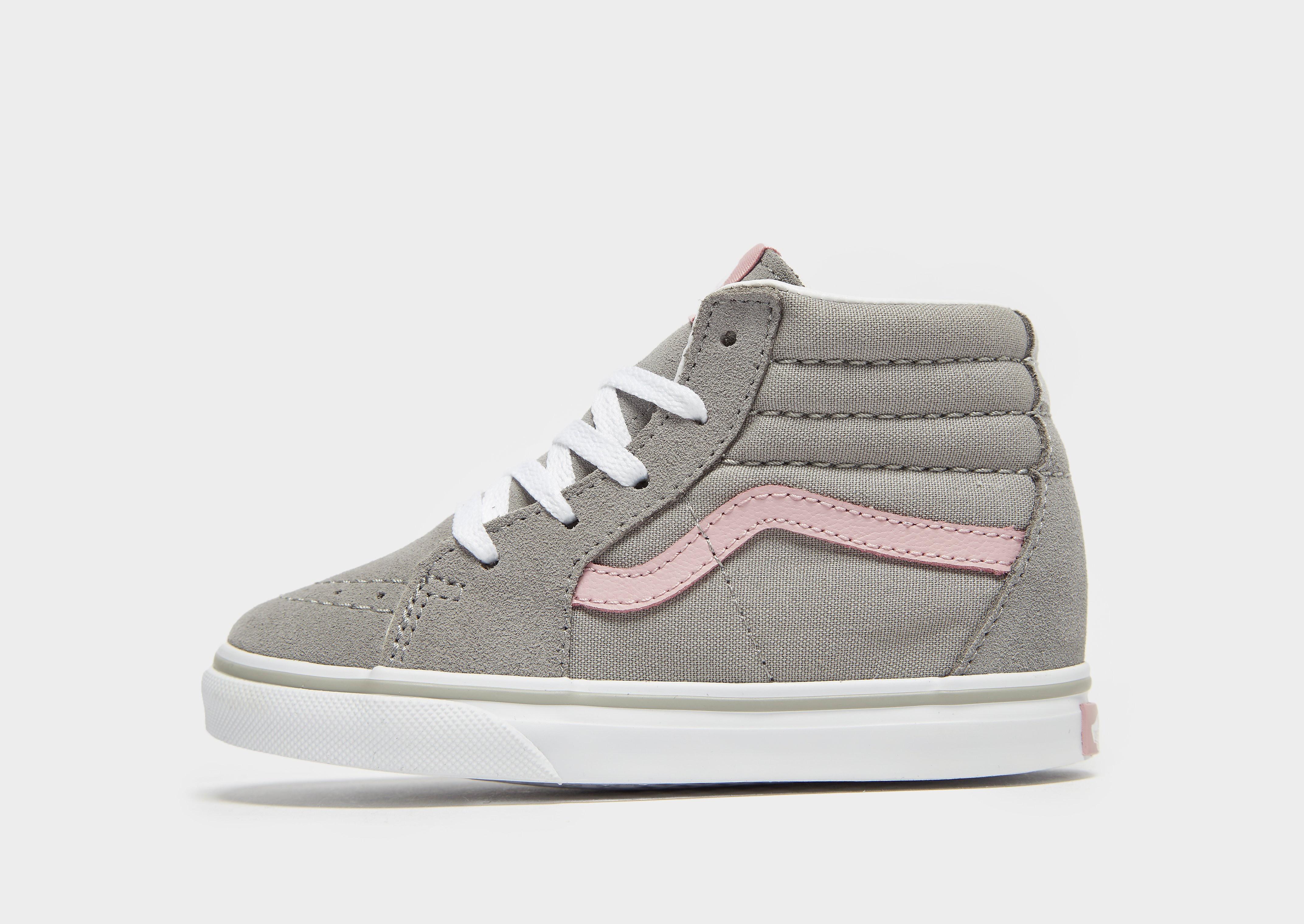 vans blauw grijs of roze wit