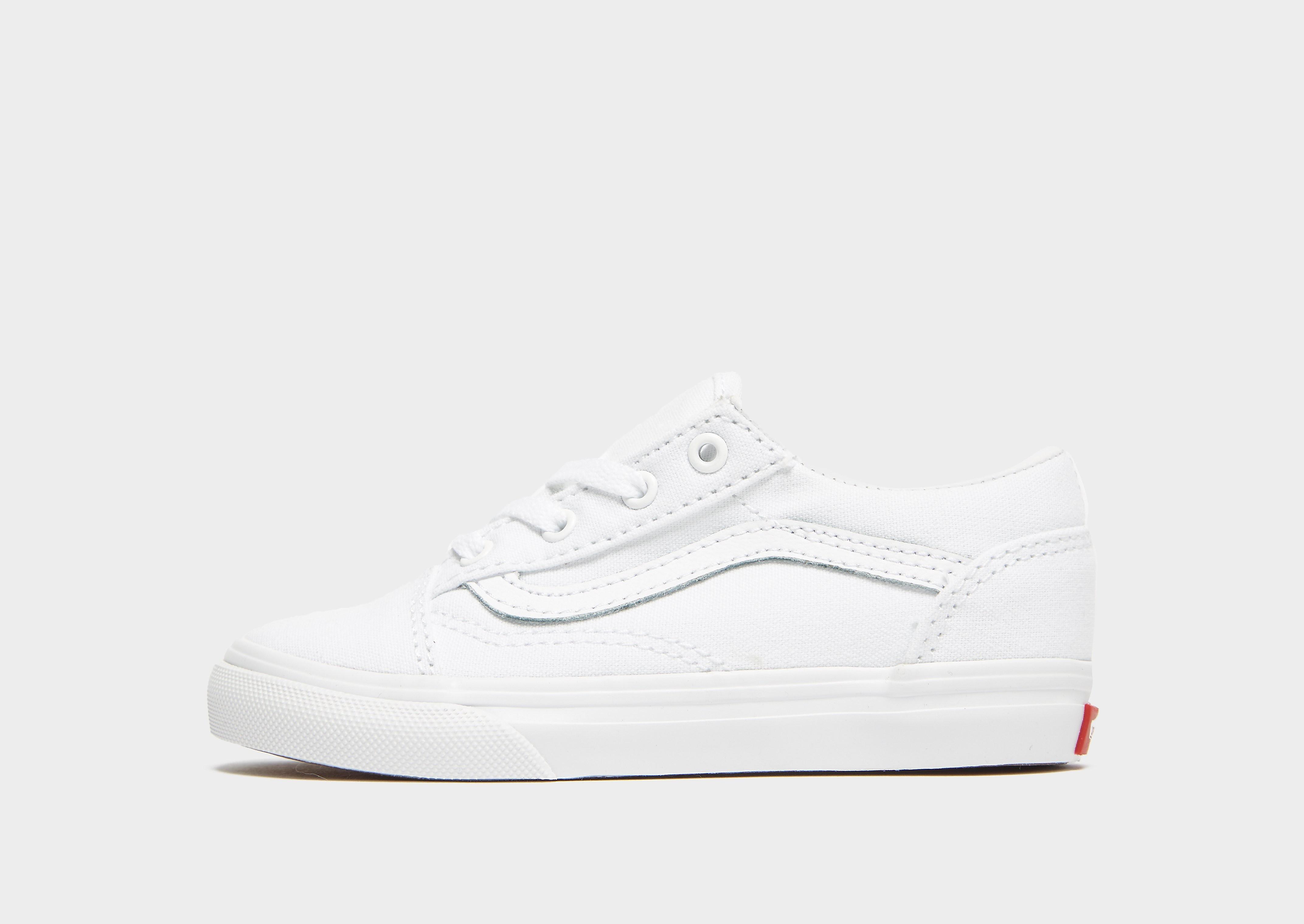 Vans Old Skool kindersneaker wit