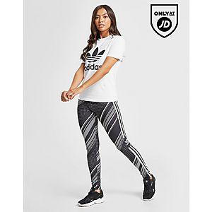 3b8dc468ca adidas Originals All Over Print Trefoil Leggings ...