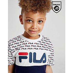 9a18867d0983 ... Fila Barrie T-Shirt Shorts Set Children