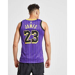 ... Nike NBA Los Angeles Lakers James  23 City Jersey ebff26bdb
