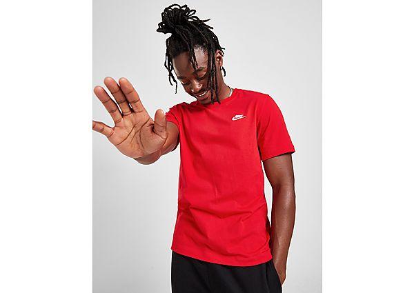 Nike Club T-Shirt, White