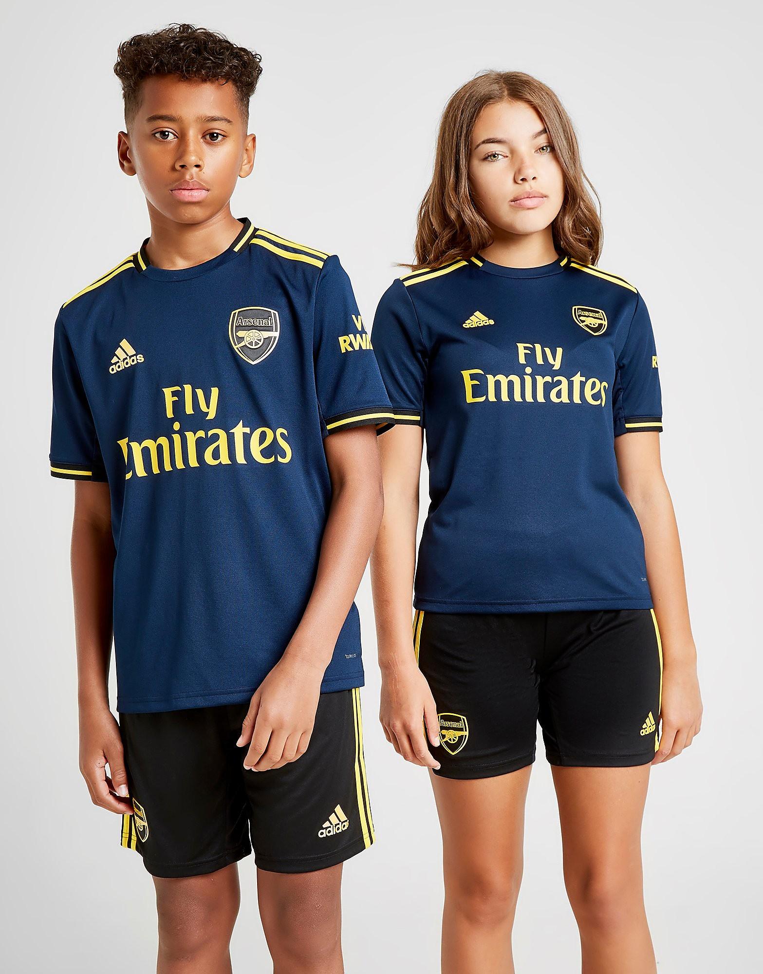 adidas Arsenal FC 2019/20 Third Shirt Junior Blauw Kind
