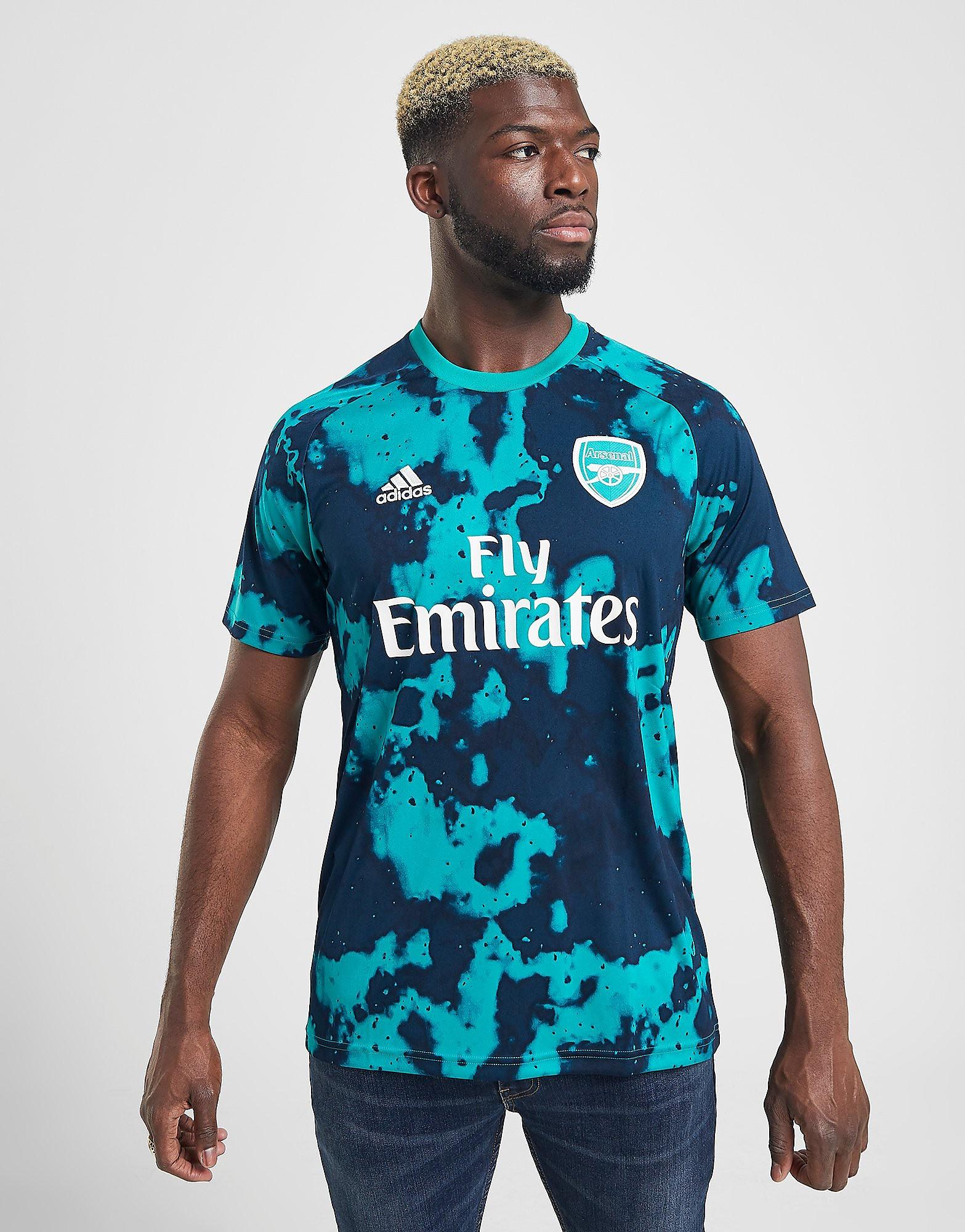 adidas Arsenal FC Pre-Match Short Sleeve Shirt Heren Groen Heren
