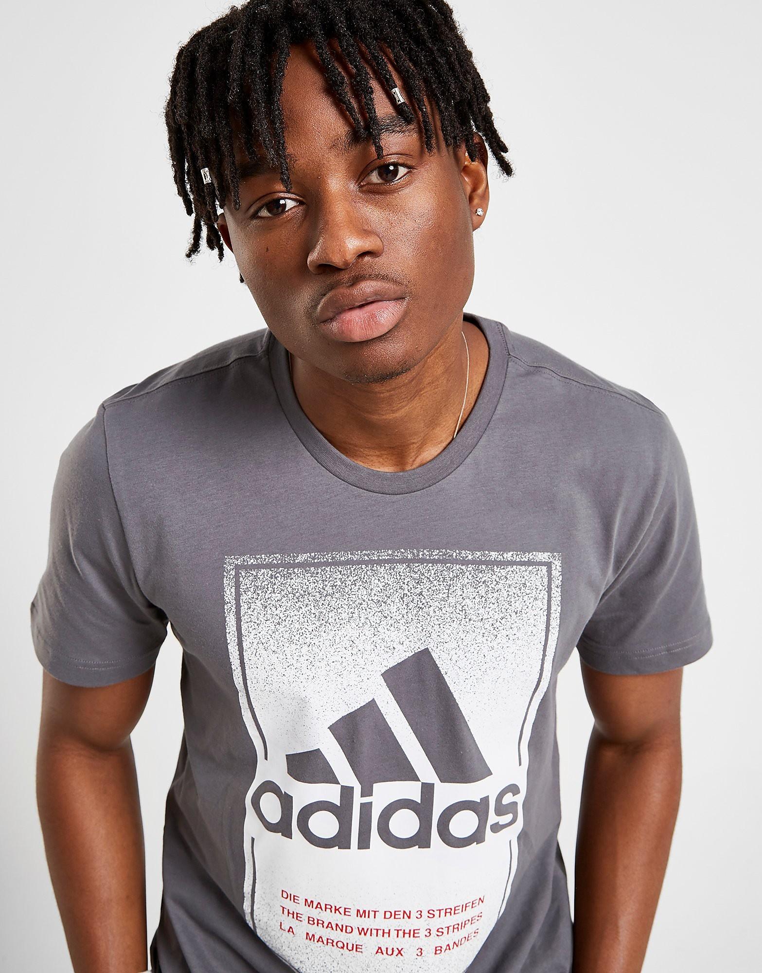 Bild på adidas Fade Box T-Shirt - Only at JD bc9aa99e611e4