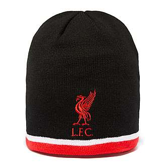 Official Team Liverpool Football Knitted Hat