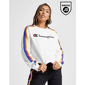 92c94d17 Champion Rainbow Crop Crew Sweatshirt Champion Rainbow Crop Crew Sweatshirt
