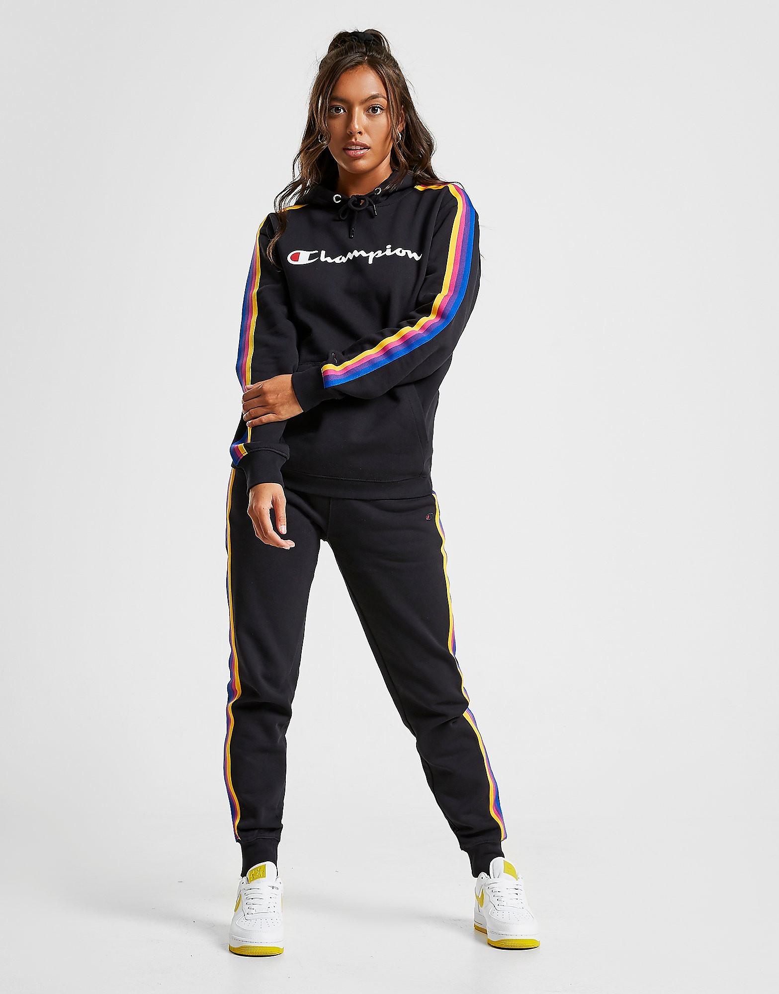 Champion Rainbow Tape Joggers Zwart Dames