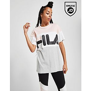 6b10e431f079 ... Fila Colour Block Boyfriend T-Shirt