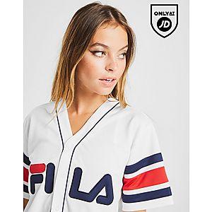 24744a0577ce7 ... Fila Stripe Baseball T-Shirt