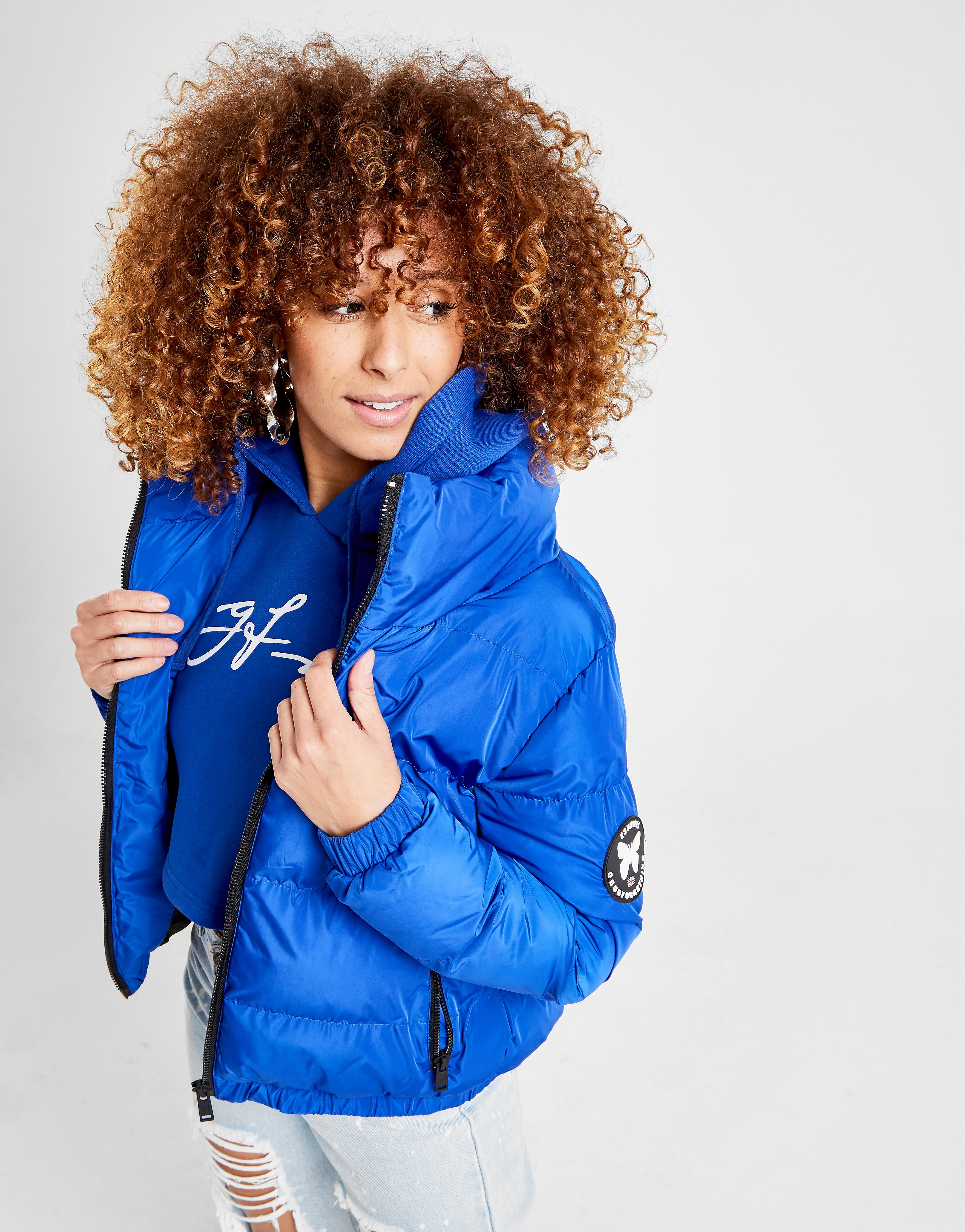 Good For Nothing Road Puffer Jacket Dames - Blauw - Dames