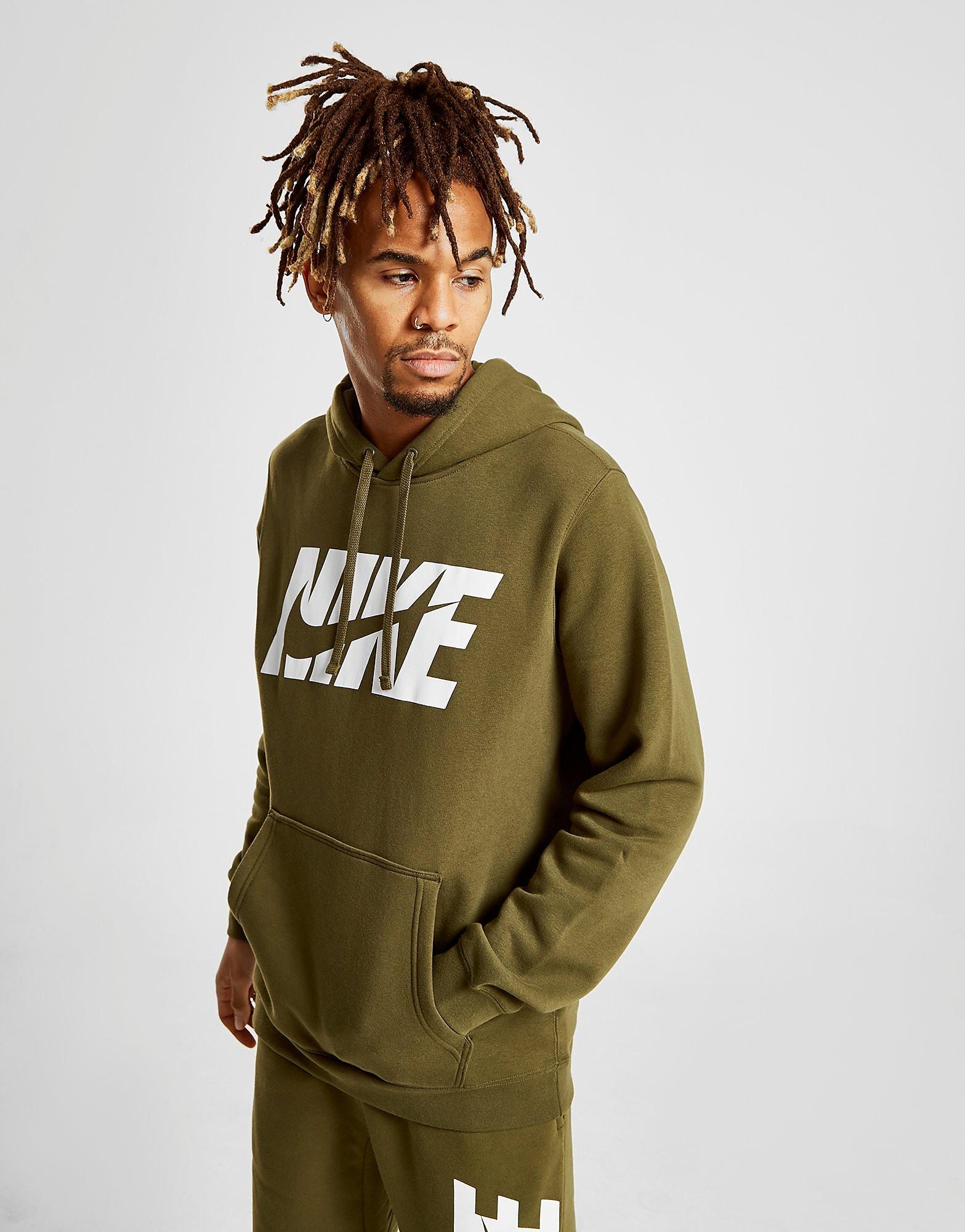 Nike Club Hoodie Heren - alleen bij JD - Groen - Heren