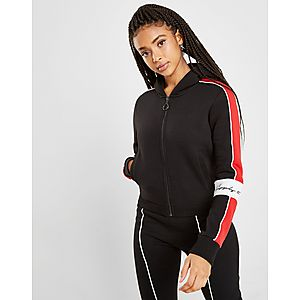 8e5b097bf506 Supply   Demand Mya Block Zip Through Hoodie ...