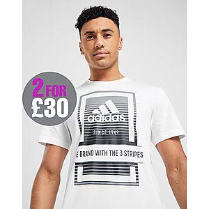 fceed9a89584 adidas Box Fade Logo T-Shirt ...