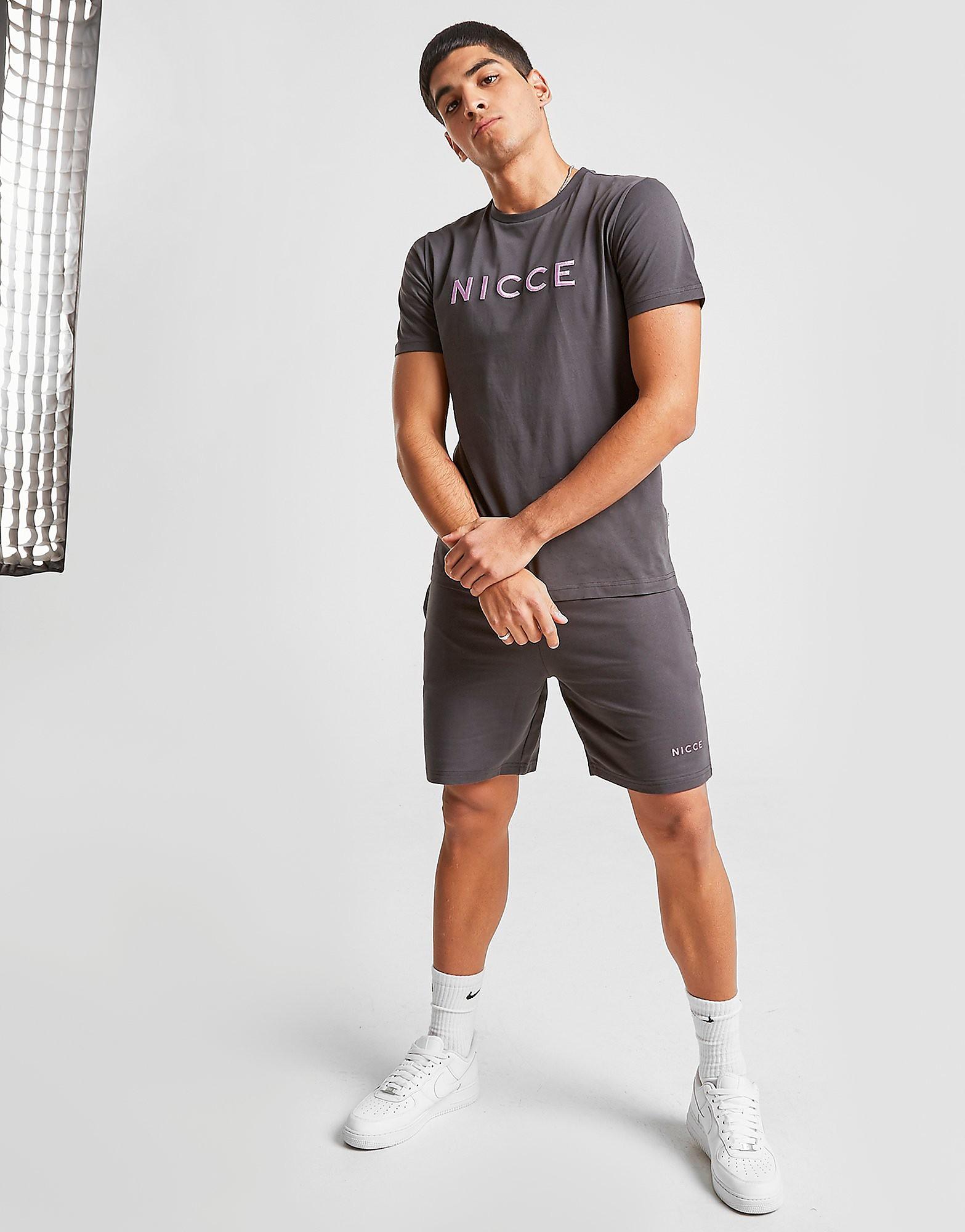 Nicce Steel Shorts Heren - Grijs - Heren