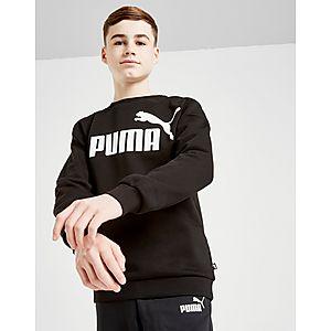 PUMA Core Logo Crew Sweatshirt Junior ... 6adbbc718f