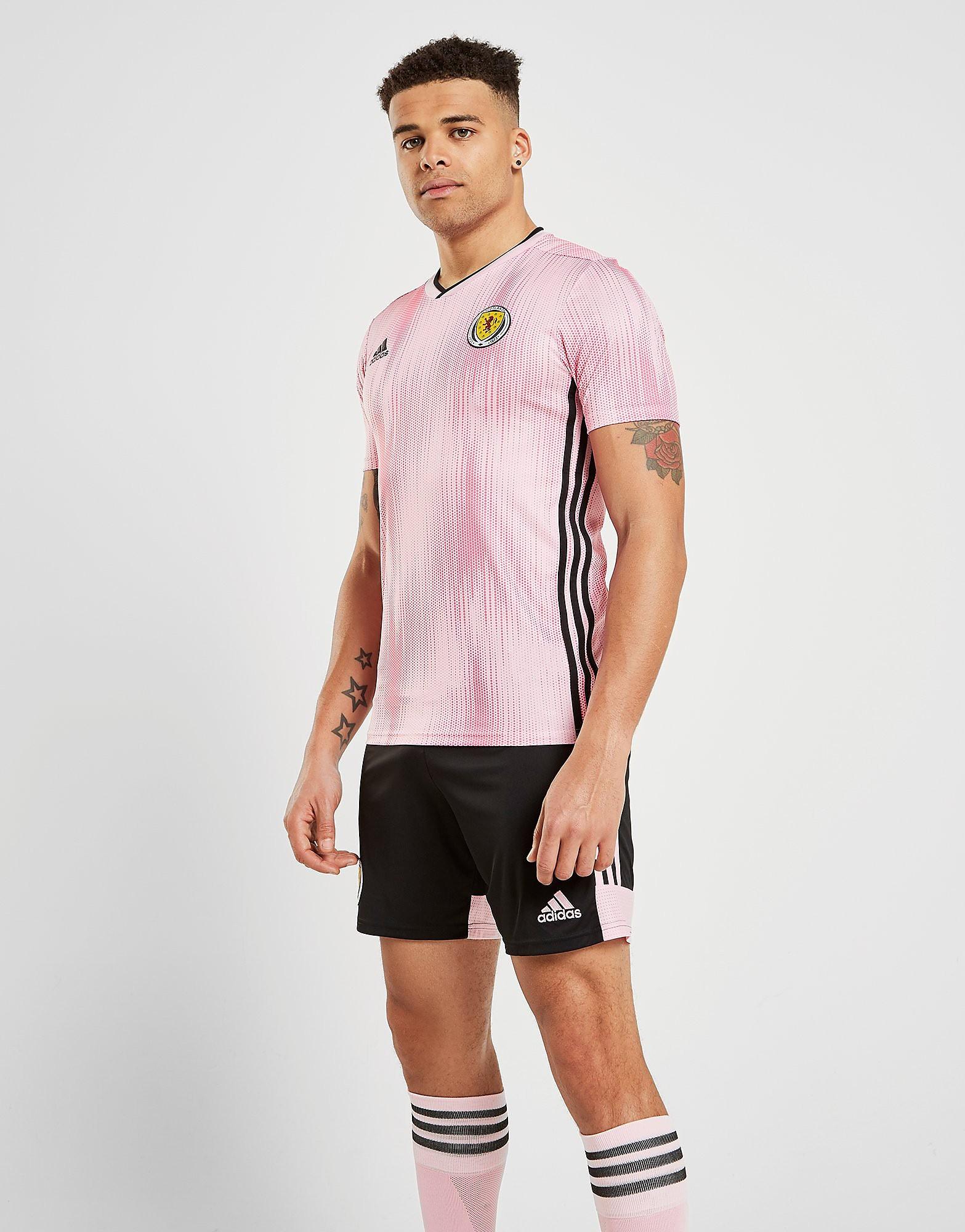 adidas Scotland WWC 2019 Away Shorts Heren PRE ORDER - Zwart - Heren