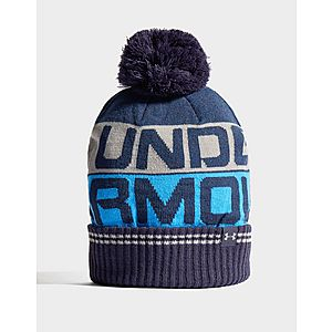 new concept a733c 1ace4 Under Armour Retro Pom Beanie Under Armour Retro Pom Beanie