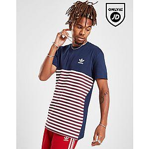 4b7571e6ba41 ... adidas Originals Trefoil Stripe T-Shirt