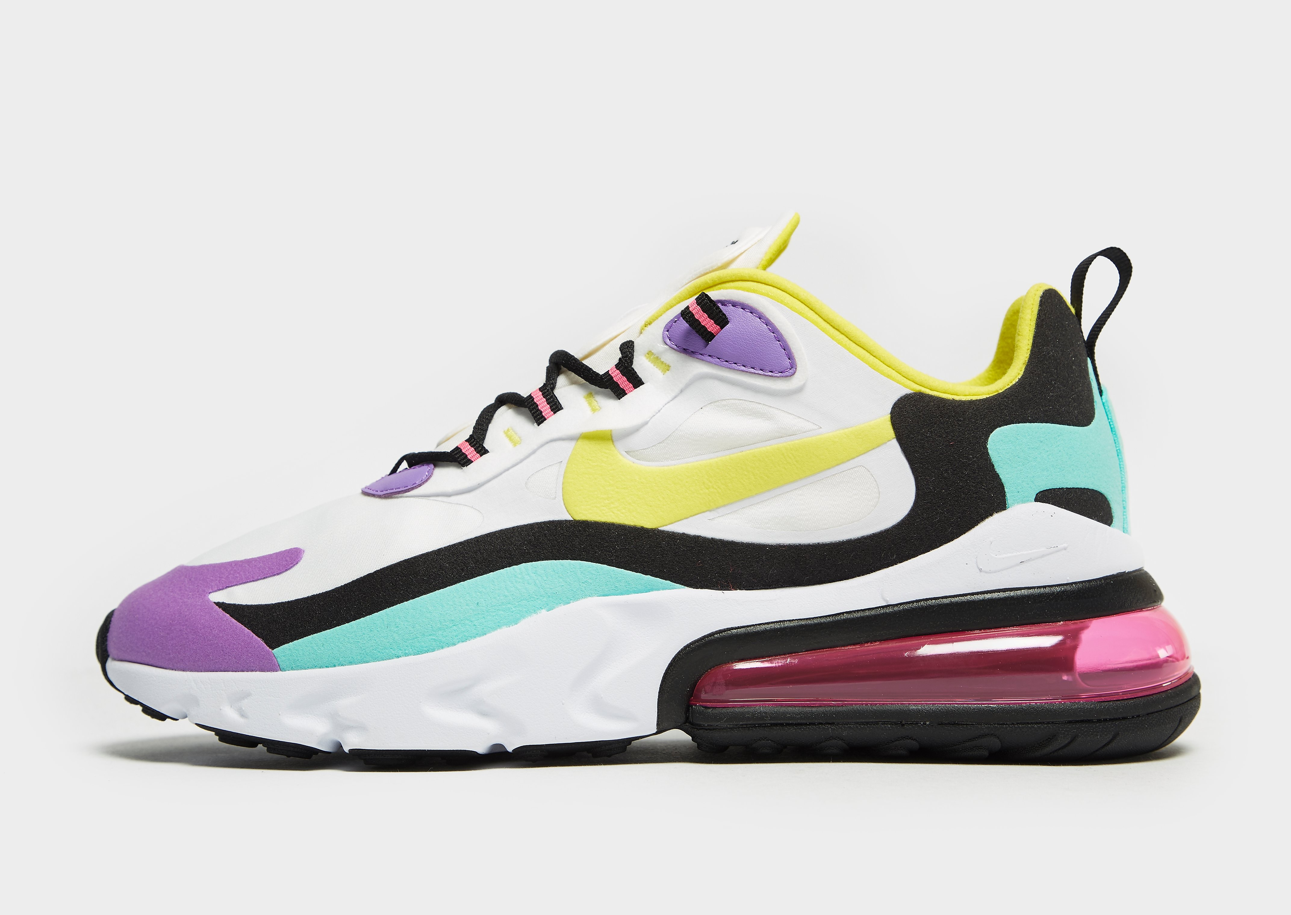 Nike Air Max 270 React, Blanco