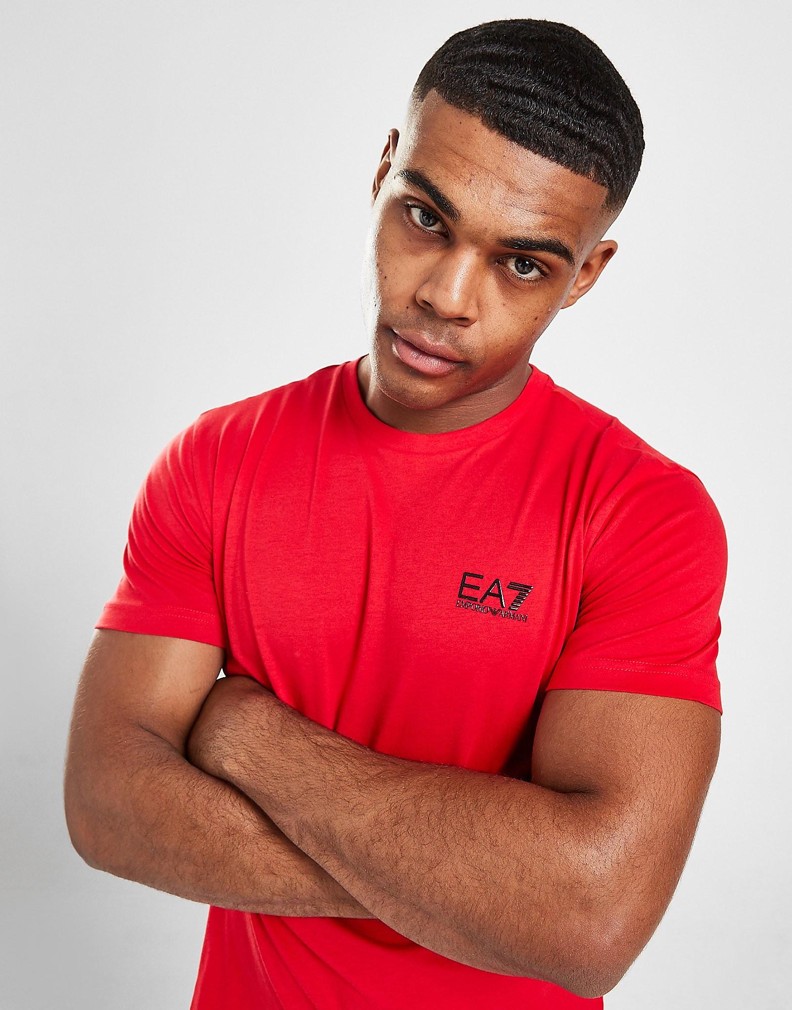 Emporio Armani EA7 Core T-Shirt Herr, Röd