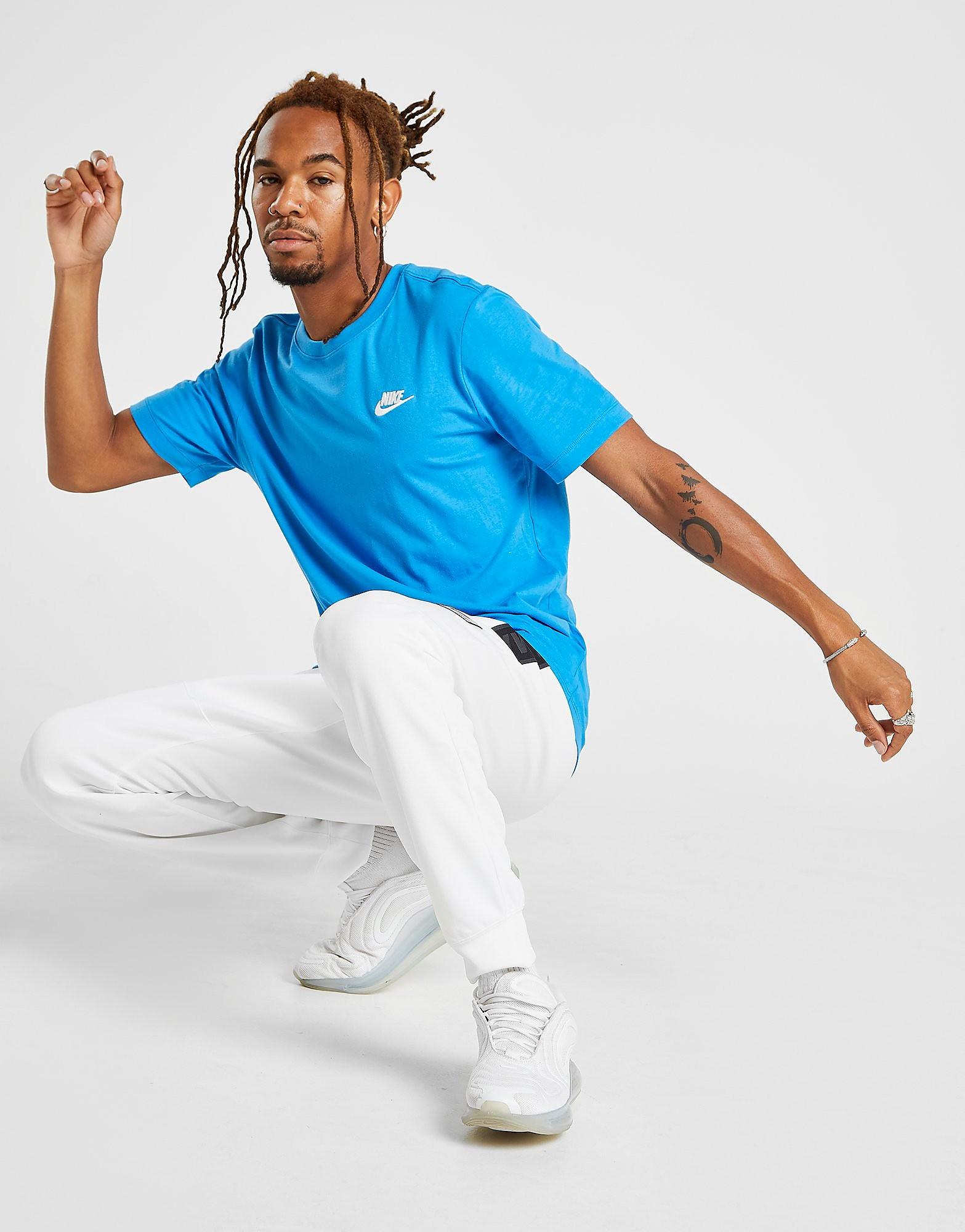 Nike Core Logo T-Shirt Heren - Blauw - Heren