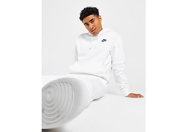 Nike sudadera con capucha Foundation, White/Black