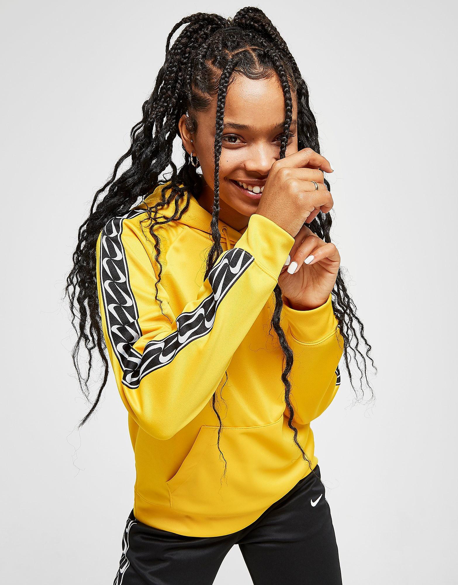 Nike Tape Poly Overhead Hoodie - Jaune, Jaune